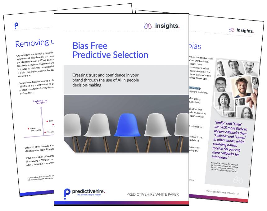 Solving Bias Interviews & Recruiting